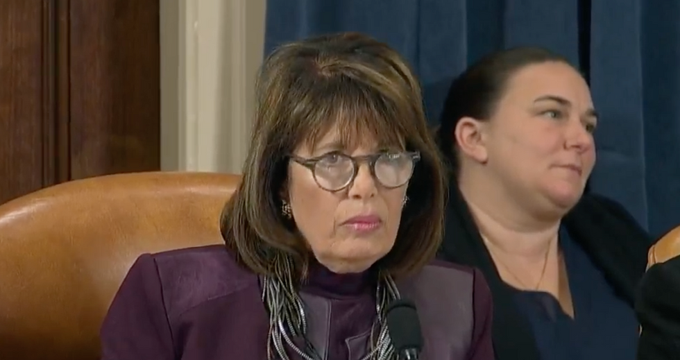 'Let's not go there': Impeachment hearing erupts in applause as Rep. Jackie Speier hits back at GOP congressman over Trump's lies