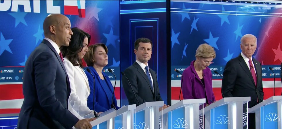 Here are 7 key moments from the Democratic primary debate