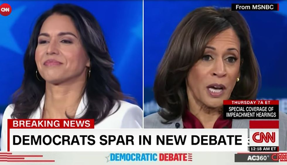 Kamala Harris and Tulsi Gabbard throw down, round 2: But this Democratic debate solved nothing