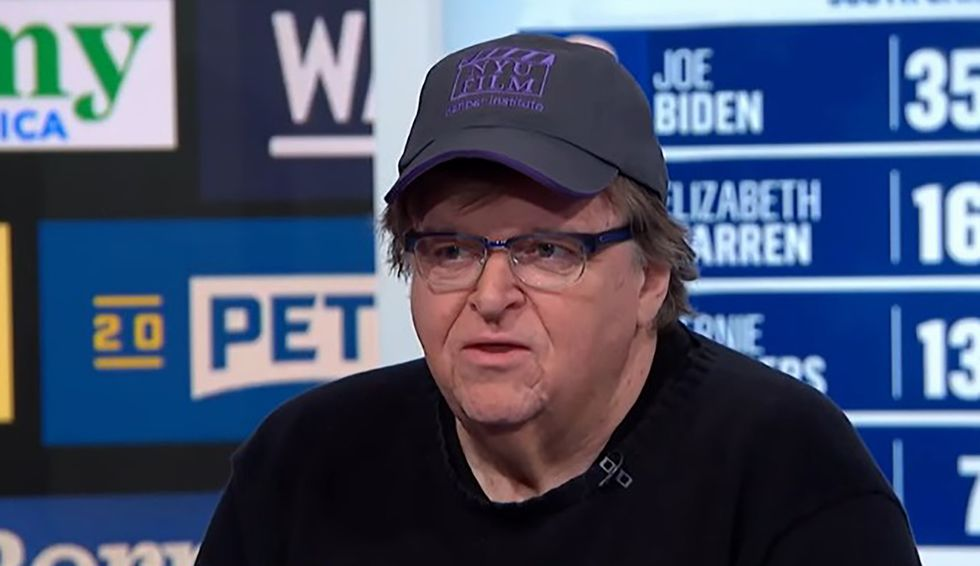 'We need an FDR': Michael Moore lays out why he's still rooting for Bernie Sanders in the 2020 Democratic presidential race