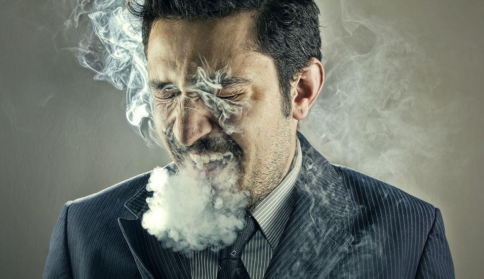 My God, I miss smoking