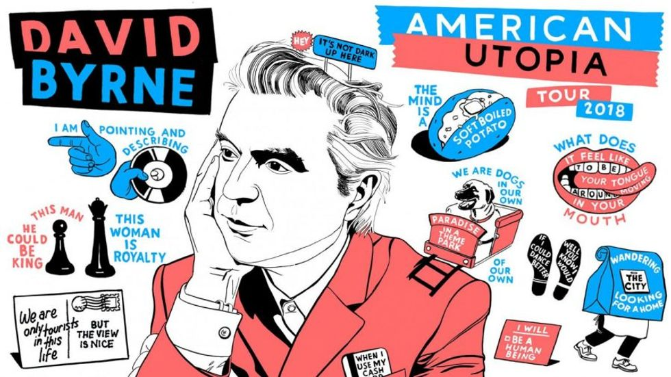 David Byrne on the Talking Heads, reasons to be cheerful and his Broadway show 'American Utopia'