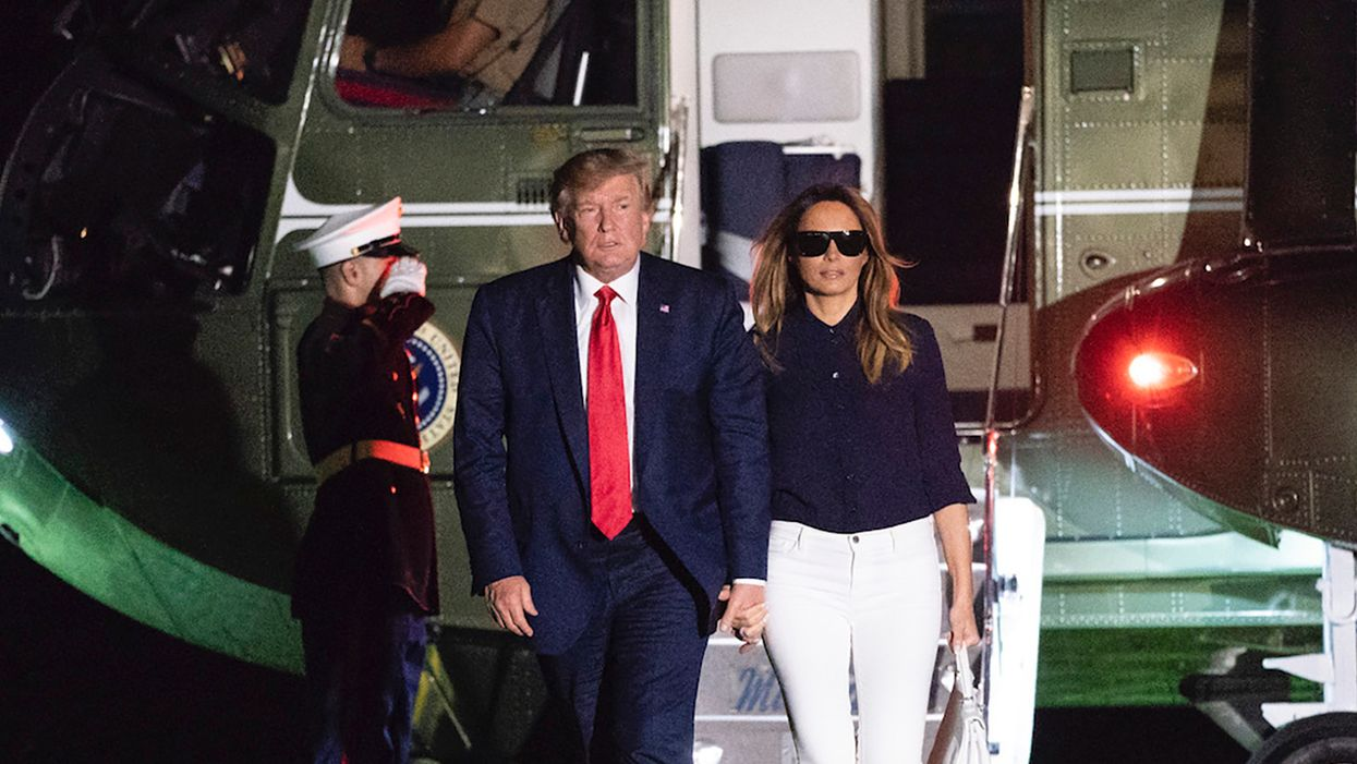 Trump and Melania left Biden a security 'headache' because they didn't want to be bothered: report