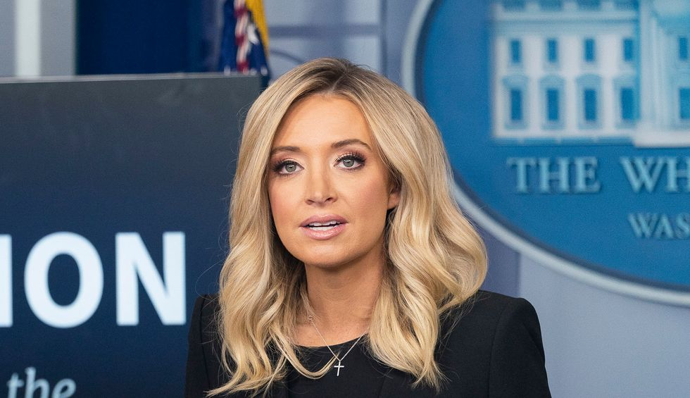 Kayleigh McEnany and Trump hilariously can't keep their stories straight about the Supreme Court's rebuke