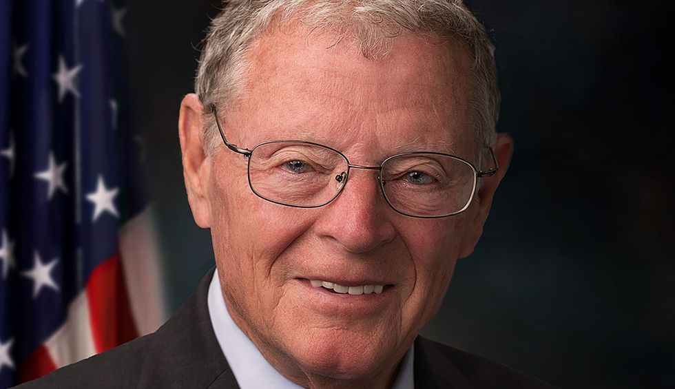 Sen. Inhofe is just fine with flooding his neighbors as long as it keeps his lake view