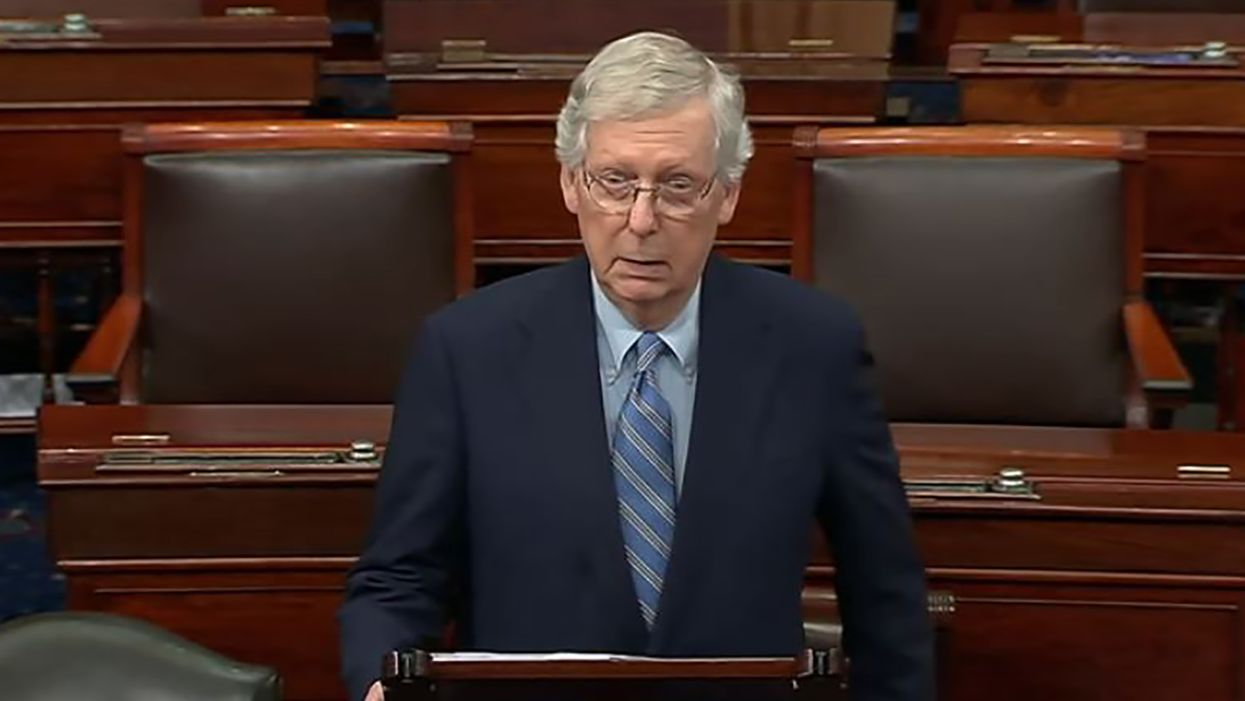 'Joker threatening Gotham City': McConnell mocked for threatening 'scorched Earth' if Dems kill filibuster