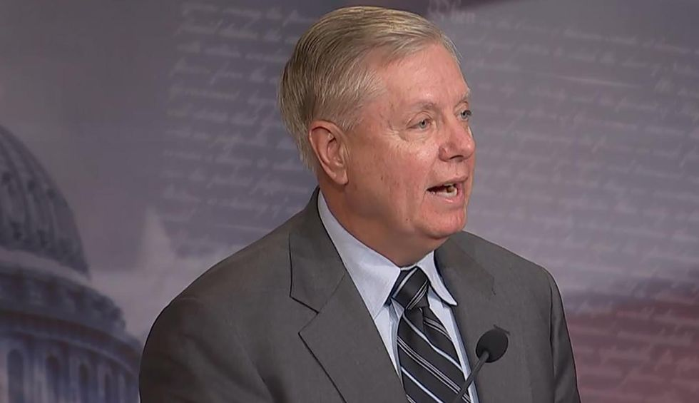 Lindsey Graham goes off at impeachment presser: 'I'm not covering up anything — I'm exposing your hatred!'
