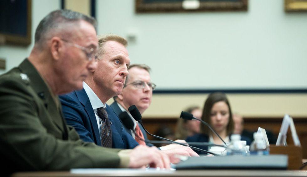 Trump's acting Pentagon chief abruptly resigns after FBI investigation postpones his Senate confirmation hearing