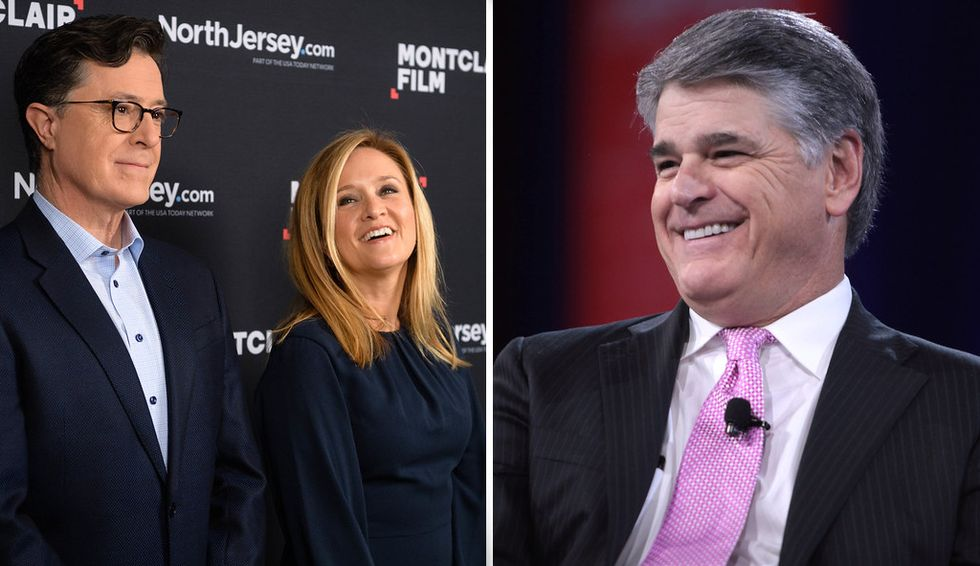 How different are Sean Hannity and Samantha Bee? A media scholar explains how right-wing outrage and left-liberal satire have reshaped our world