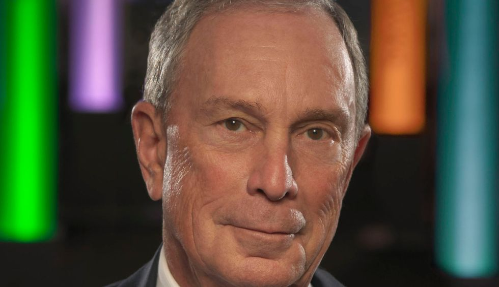 Michael Bloomberg is an American oligarch
