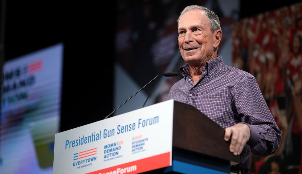 Bloomberg claims he released his tax returns as mayor. That's a lie