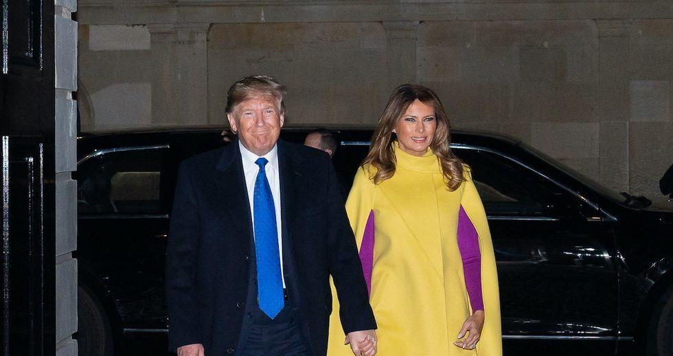 Melania Trump tries to excuse the her husband's attacks on Greta Thunberg