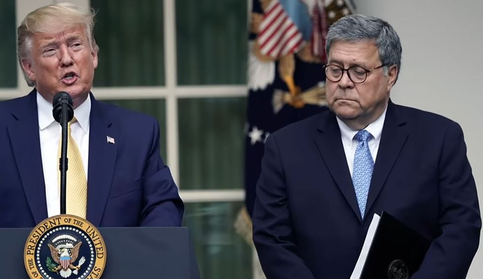 Trump slammed for suggesting Barr must prosecute critics like Obama to become 'greatest'