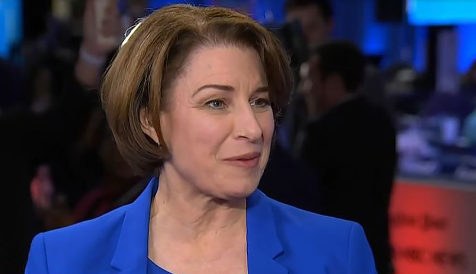 Amy Klobuchar feeds trolls with pro-life 'big tent' talk