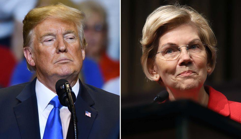 Elizabeth Warren's proposed wealth tax is much more popular than Trump's border wall: Fox News poll