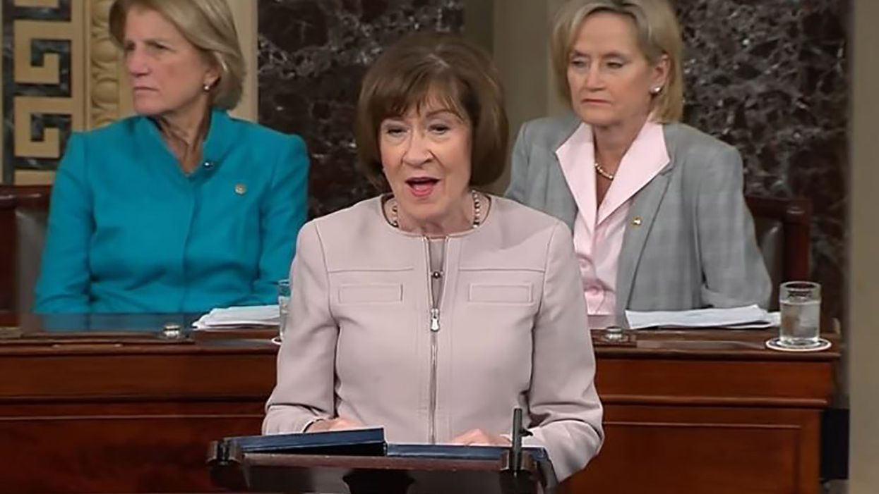 Susan Collins worries $1,400 survival checks not 'targeted' enough after supporting $1.5 trillion in tax cuts for the rich