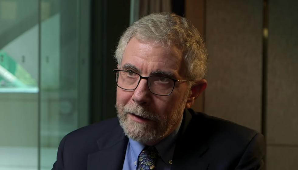 'Severe case of infallibitis': Economist Paul Krugman explains why he doesn't believe 'insecure' Trump is taking hydroxychloroquine