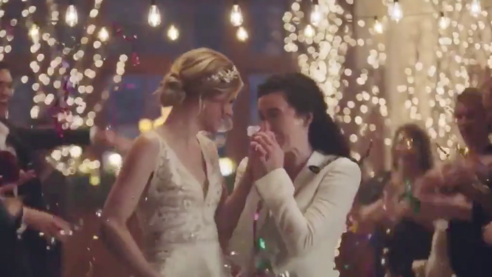 Hallmark Channel sparks backlash after network drops ads that feature brides kissing