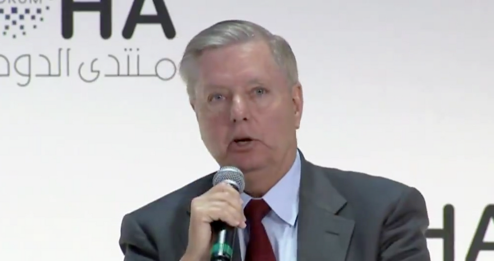 Lindsey Graham gives shameful — and revealing — answer when pressed on Trump's wrongdoing