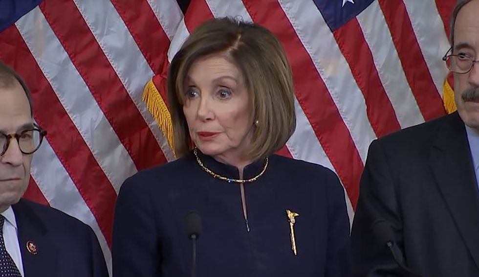 Nancy Pelosi announces she'll begin the process of impeachment articles to the Senate
