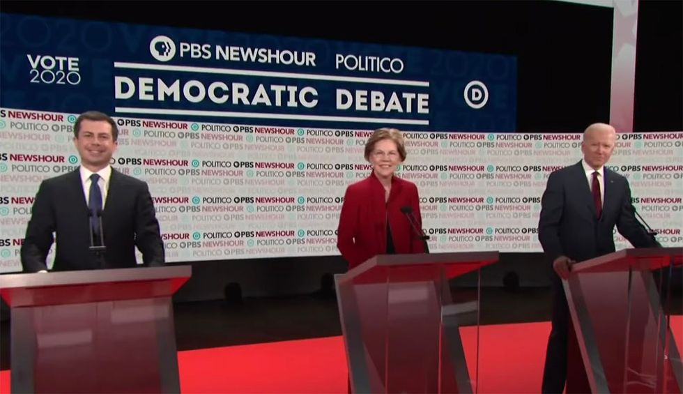 DNC announces next debate qualifications — which could box out 3 of last night's candidates