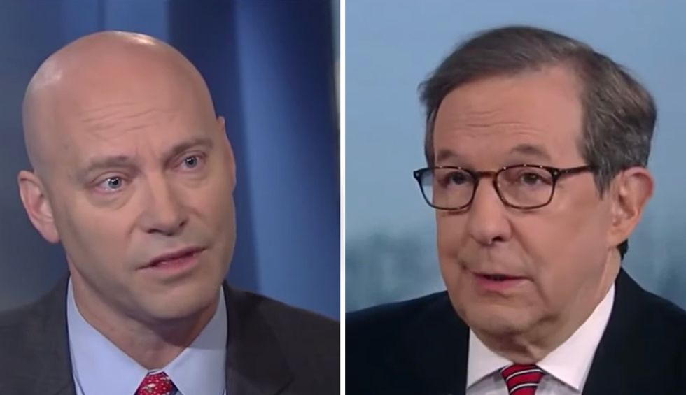Fox News' Chris Wallace corners Pence aide after 'imbecile' Trump says late Rep. Dingell could be burning in hell: 'You talk about morality'