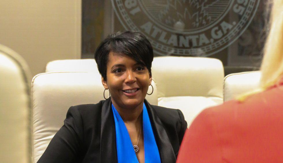 Atlanta Mayor Keisha Lance Bottoms says she has COVID-19
