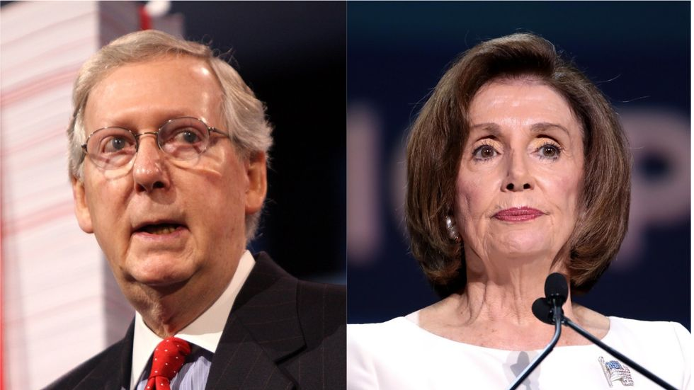 Nancy Pelosi now has real leverage over Mitch McConnell. Here's how she should use it