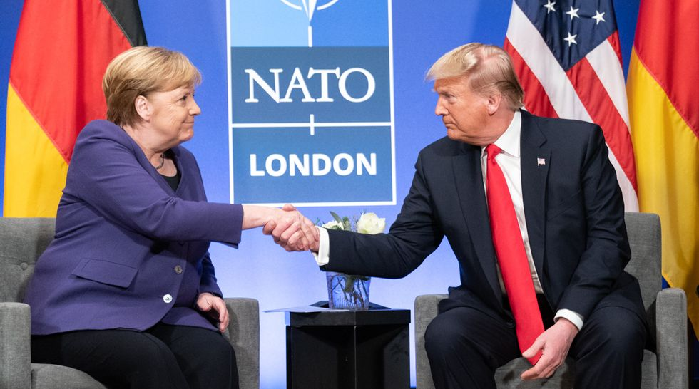 Germans think Trump is bigger threat to world peace than dictators as he becomes a global laughing stock