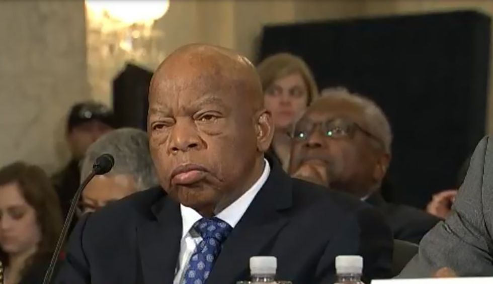 Civil rights hero Rep. John Lewis diagnosed with pancreatic cancer
