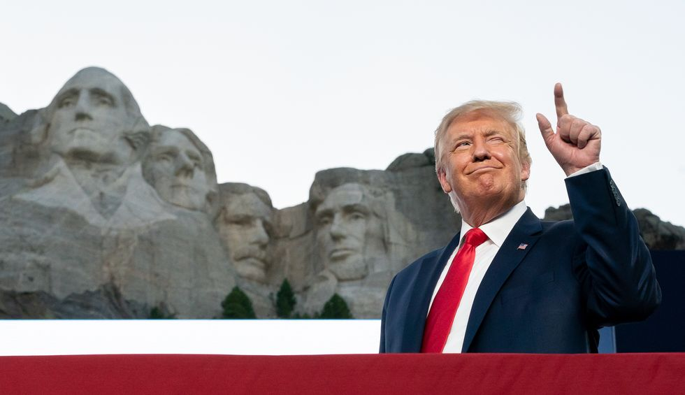 Donald Trump's 'base' isn't even living Americans:  It's a morbid mythology of the past -- and meaningless monuments