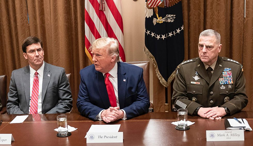 The Pentagon leaks an explosive story of Trump's dereliction of duty — widening the rift between the military and the White House