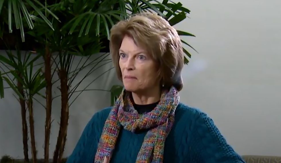 Lisa Murkowski admits Trump didn't learn his lesson after reporters confront her with evidence president has gotten worse since acquittal
