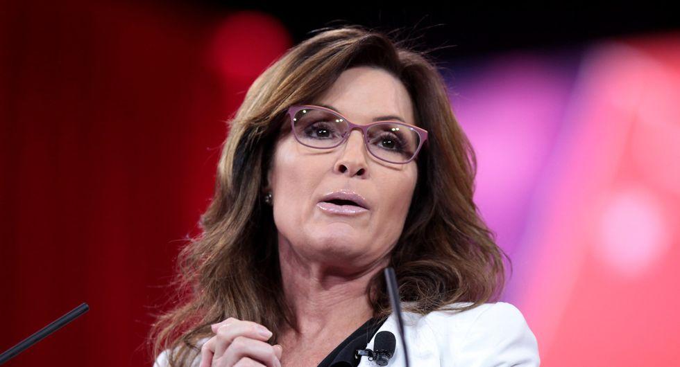 Sarah Palin lobs misogynistic insinuation at Kamala Harris