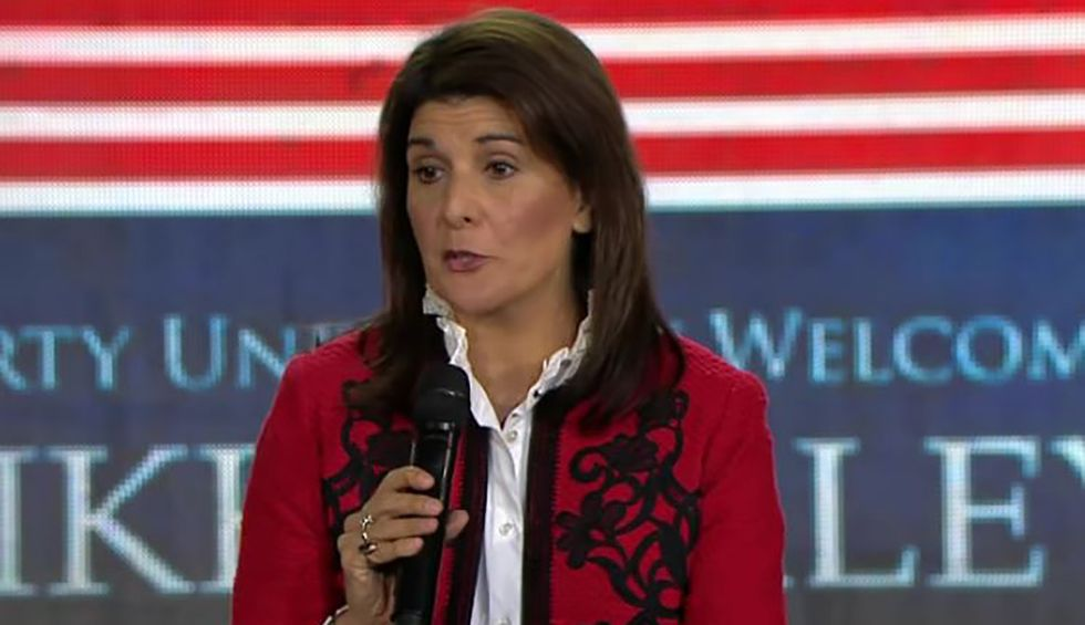 Nikki Haley blasted for 'categorically false' lie about Democrats: 'Ridiculous, inflammatory and dangerous'