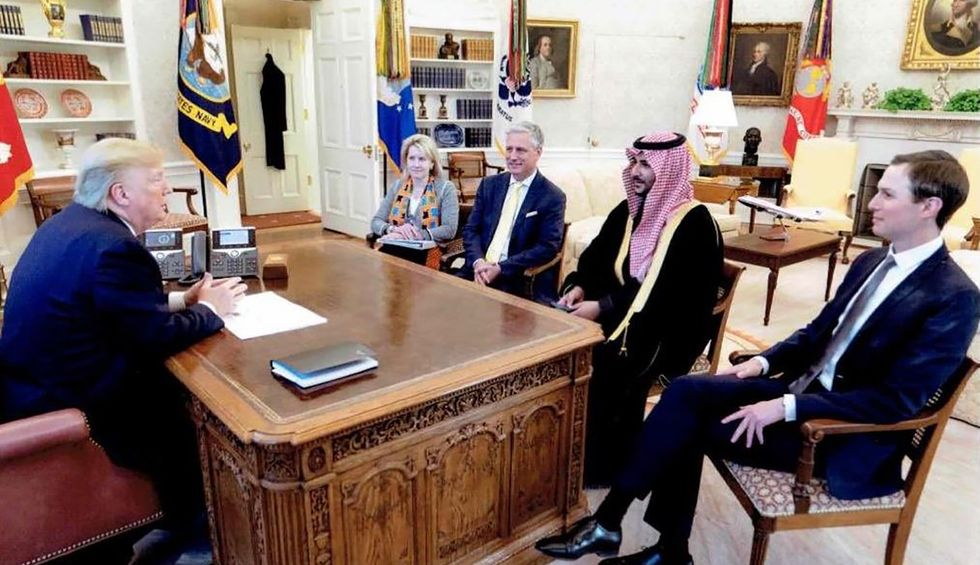 'Disturbing': Reporters slam White House for not disclosing meeting with Saudi defense minister