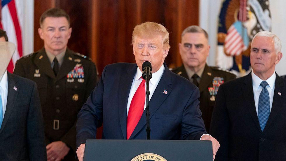 Trump threatens war with Iran amid coronavirus crisis