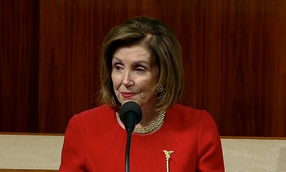 Nancy Pelosi accuses Mitch McConnell of a 'cover up'