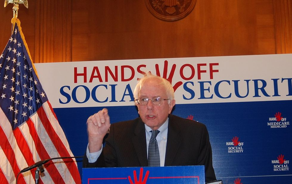 Bernie Sanders slams Trump's plot to cut Social Security
