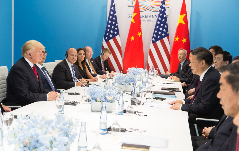 The first stage of a tech war between the US and China