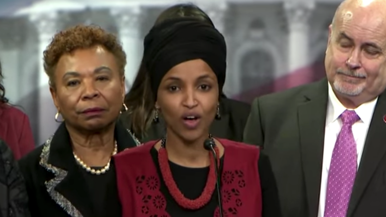 Ilhan Omar warns of progressive revolt if Dems 'poison' relief bill by curbing eligibility for $1,400 checks