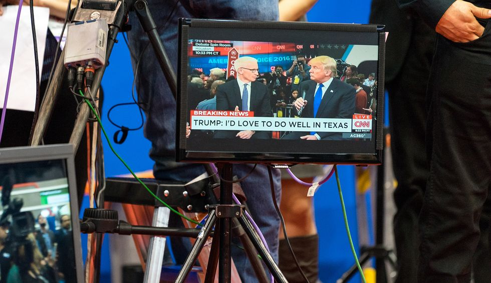 Networks are nervous that 2 hours of Donald Trump at the RNC will be a ratings killer for them