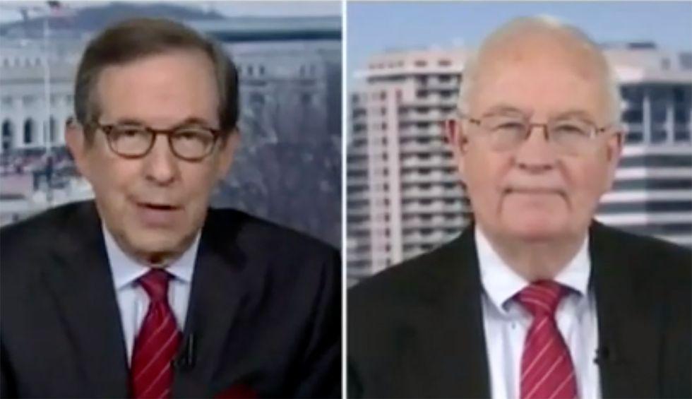 Fox News' Chris Wallace shreds Ken Starr: Trump's scandal 'a much bigger issue than whether Bill Clinton lied about sex'