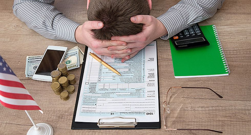 IRS cuts audits of the rich while stepping up audits of the poor after budget cuts