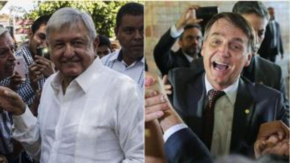 Pundits argue: Mexico's Democratic López Obrador is a bigger threat than Brazil's Dictator Bolsonaro