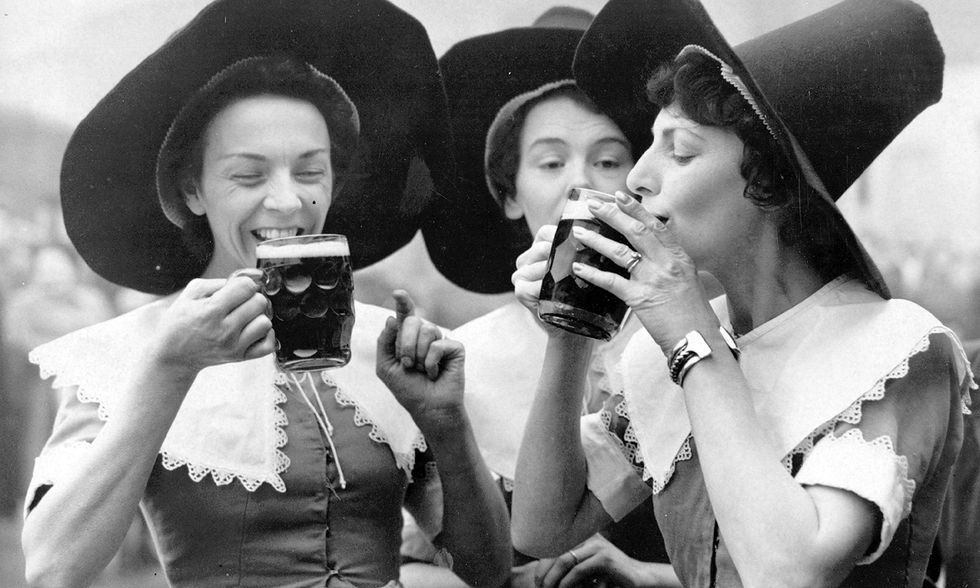 Sorry bearded hipsters — the original brewers were women