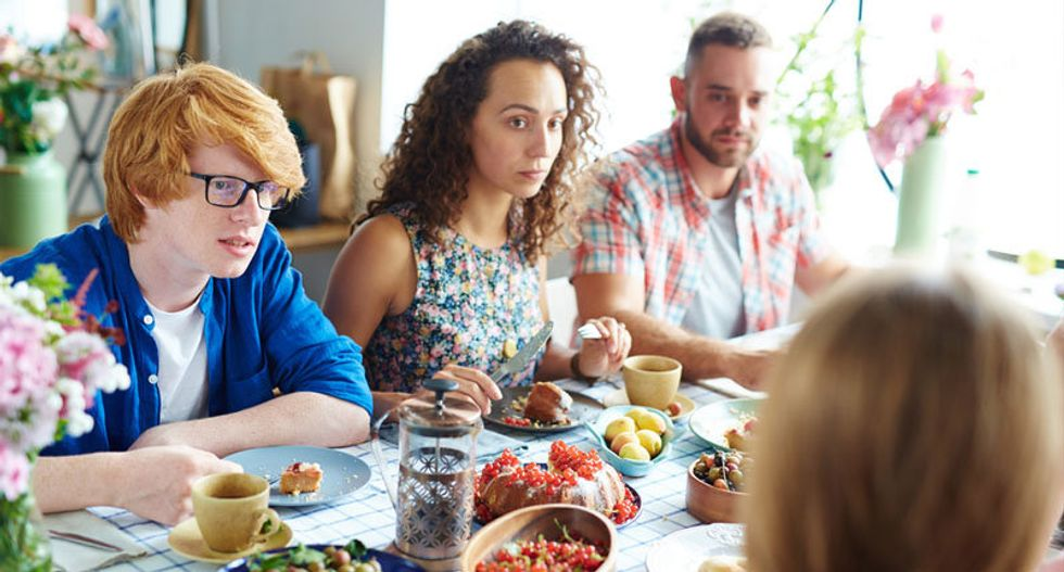My family didn't argue about politics or religion — our major source of contention at dinner was UFOs