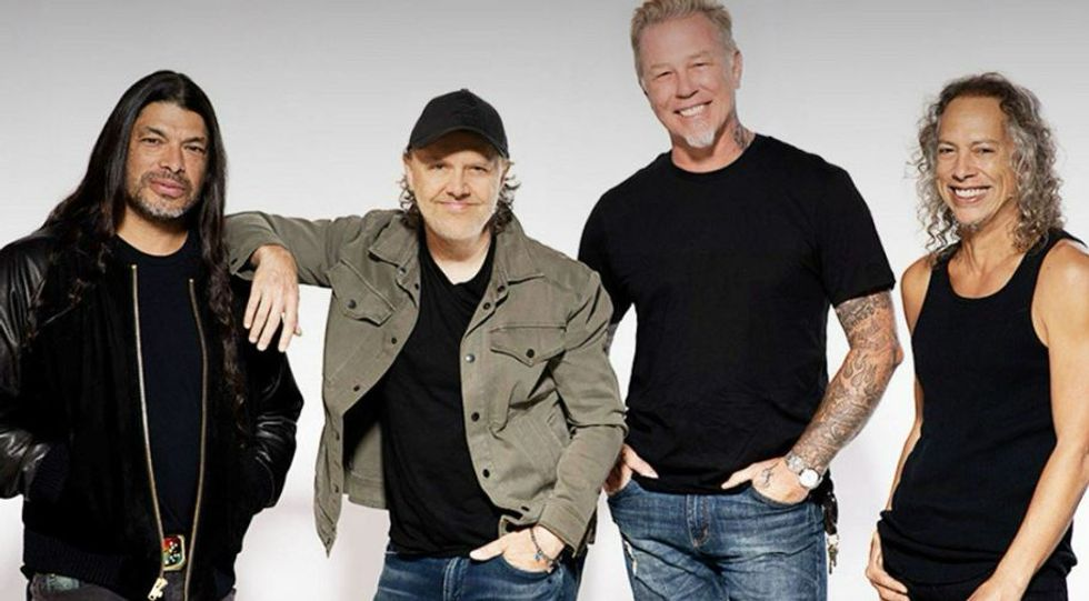 Metallica's 'not-so-secret' charity gives community colleges $1 million for 'heavy metal' trades