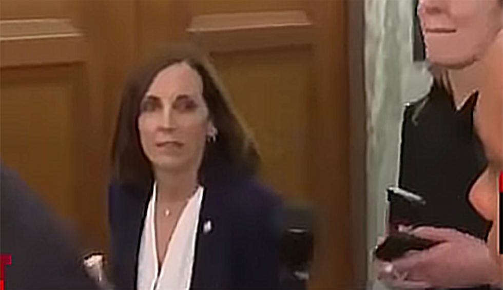 Watch this vulnerable GOP senator flip out when confronted with new Lev Parnas bombshells: 'You're a liberal hack!'