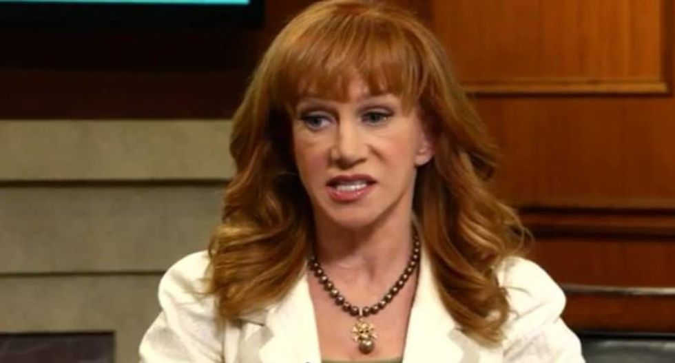 Kathy Griffin still gets death threats: 'People want to kill me on stage'